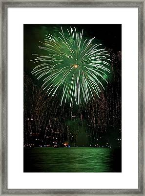 Emerald Sky Framed Print by David Patterson