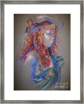 Emerald Framed Print by Tina Siddiqui