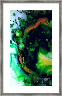 Emerald Visions Framed Print