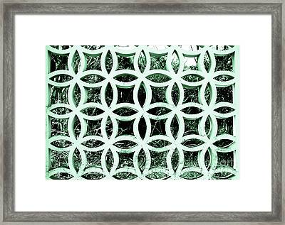 Emerald Window 2 Angeloff J Framed Print