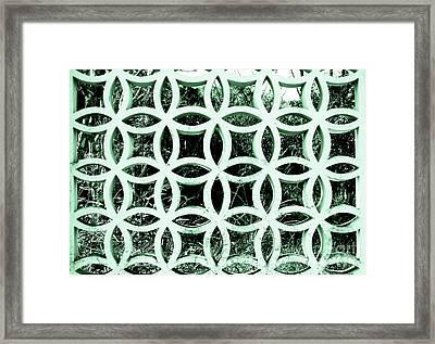 Emerald Window 2 Angeloff J Framed Print by Joy Angeloff