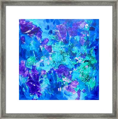 Emergence Framed Print by Irene Hurdle