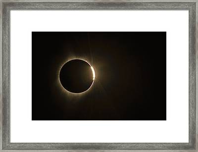 Emergence Framed Print by Joe Hudspeth
