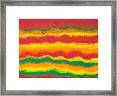 Emergence No. 1 Framed Print by Elizabeth Dawson