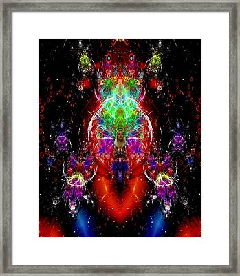 Emergence Of The Lady Arwen Framed Print by Mario Carini