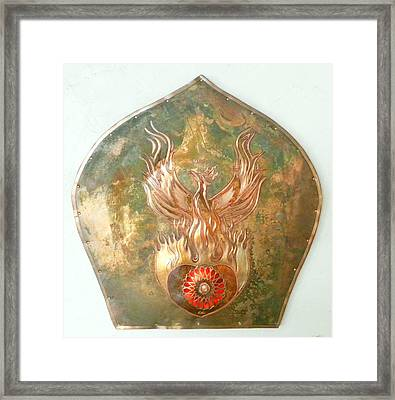 Emergence Framed Print by Shahna Lax