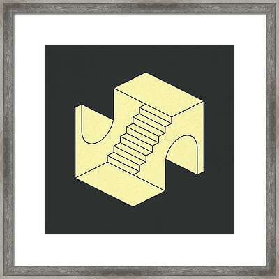 Emergency Exits 33 Framed Print