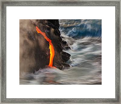 Emergent Framed Print
