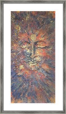 Emerging Buddha Framed Print