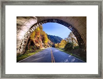Emerging Framed Print by Rob Travis
