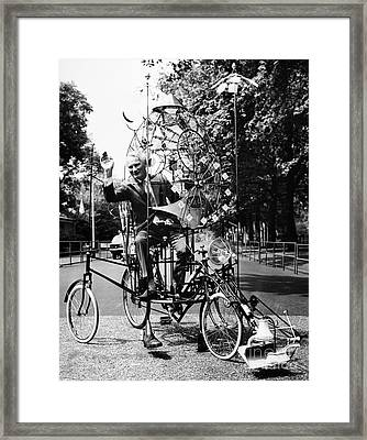 Emett: Lunacycle, 1970 Framed Print by Granger