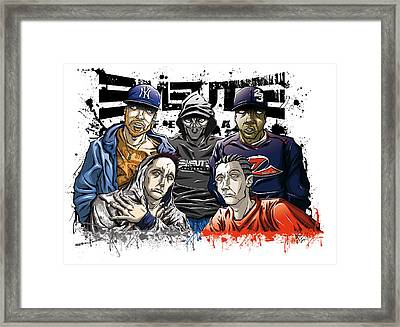 Emeute Infernale Framed Print by Tuan HollaBack
