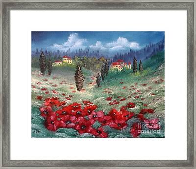 Emilia Romagna Framed Print