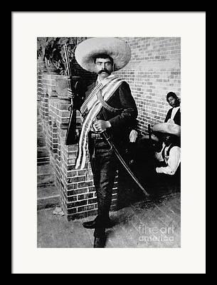 Emiliano Zapata Framed Prints