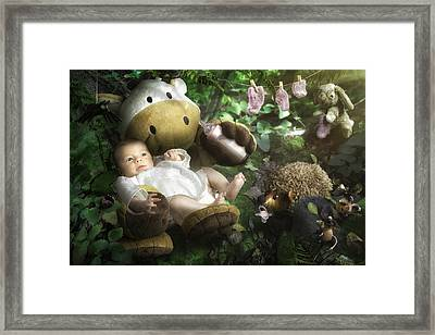 Emilie's World Framed Print by Christophe Kiciak