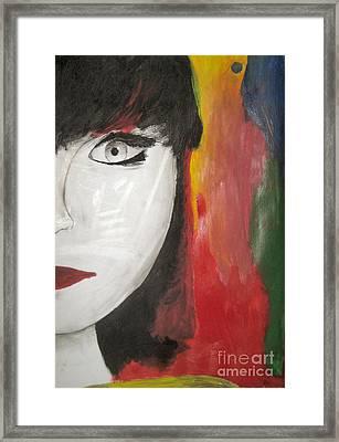 Emilio's Asia Girl Framed Print