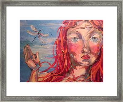 Emily 2 Framed Print by Heather Roddy
