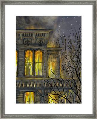 Emily Framed Print by Jamison Smith