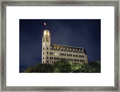 Emily Morgan Hotel Framed Print
