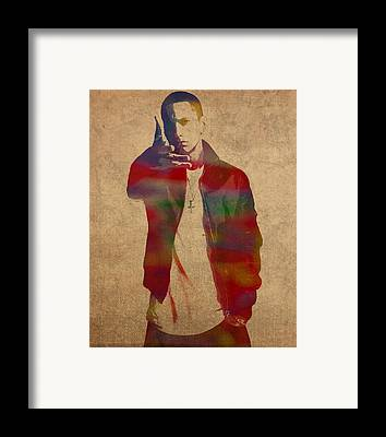 Eminem Framed Prints