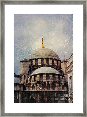 Eminonu New Mosque Framed Print