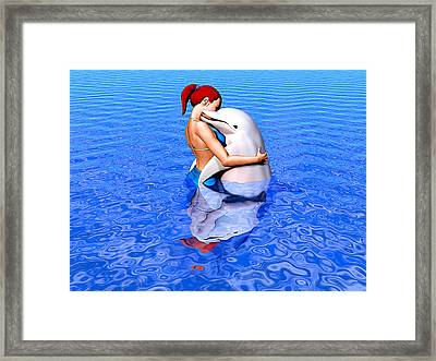 Emissaries Framed Print