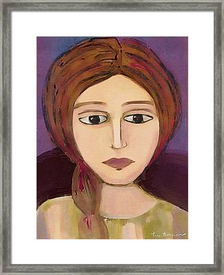 Emma Framed Print by Lisa Noneman