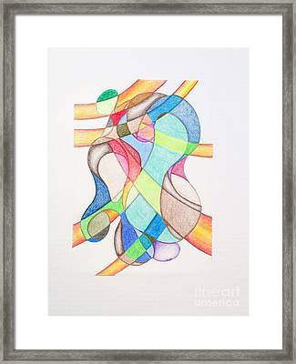 Emo Art 02 Framed Print by Marvin Williams
