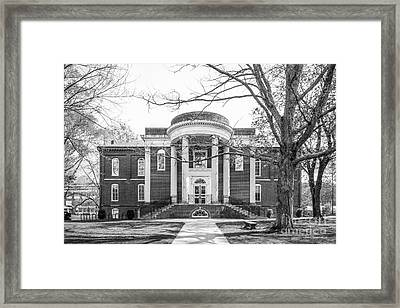 Emory And Henry College Byars Hall Framed Print by University Icons