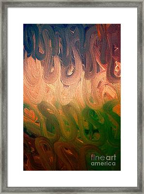 Emotion Acrylic Abstract Framed Print