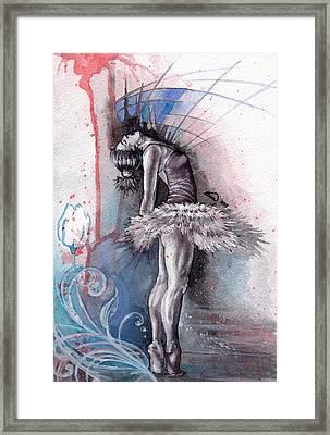 Emotional Ballet Dance Framed Print