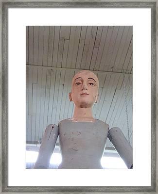 Emotional Escrow Framed Print