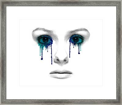 Emotional Expression Framed Print by Solomon Barroa