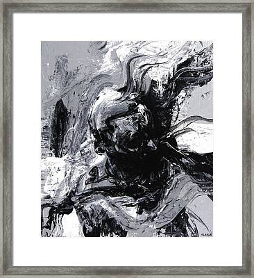 Emotionally Unavailable Framed Print by Jeff Klena