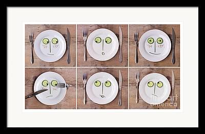 Cucumbers Framed Prints