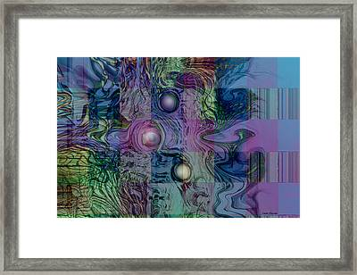 Emotions Block Framed Print by Linda Sannuti