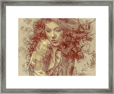 The State Of Emotion  Framed Print by Moustafa Al Hatter