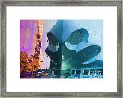 Framed Print featuring the photograph Emp Psychadelic by Chris Dutton