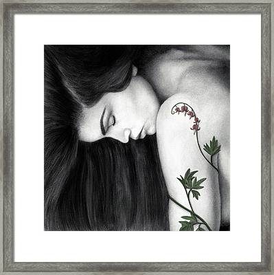 Empathy Framed Print by Pat Erickson