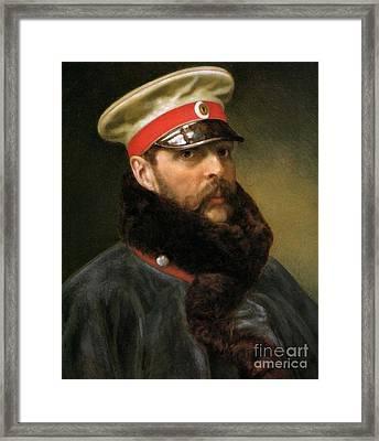 Emperor Alexander II Framed Print