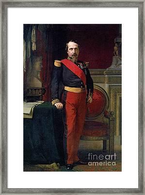 Emperor Of France Framed Print