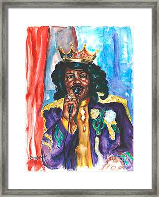 Emperor Of The Universe Framed Print