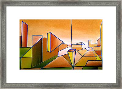 Emperors Vision 1.2 Framed Print by Giro  Tavitian