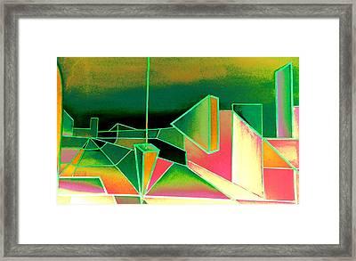 Emperors Vision 2.1 Framed Print by Giro  Tavitian