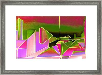 Emperors Vision 2.11 Framed Print by Giro  Tavitian