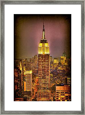 Empire Light Framed Print by Chris Lord