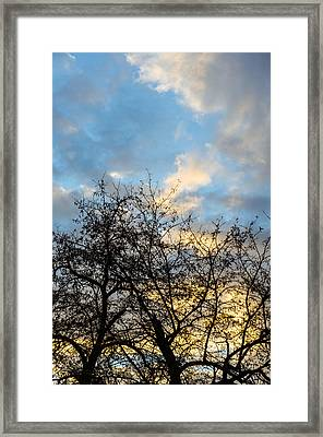 Empire Of Angels Framed Print by Andrea Mazzocchetti
