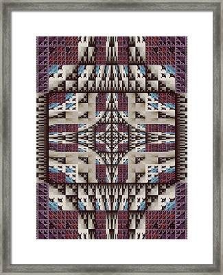 Empire Quilt Framed Print by Ricky Kendall