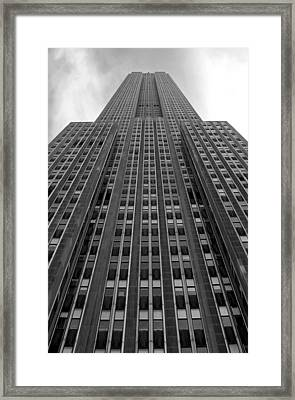 Empire State Building Framed Print by Mandy Wiltse