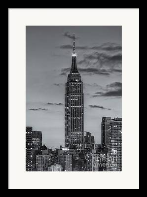 Commercial Building Framed Prints